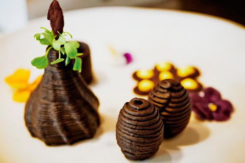 Pasteles elaborados con la impresora 3D 'Foodini'-Fuente: 'El País''