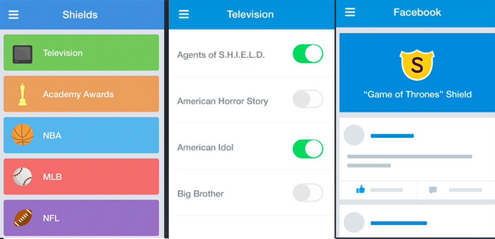 Spoiler Shield, aplicación para móviles para evitar Spoilers