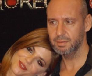 El director y la actriz de Rec 4 Jaume Balagueró y Manuela Velasco