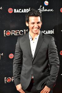 Foto del actor Fran Perea en la première de Rec 4