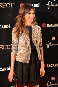 Imagen de la actriz Goya Toledo en la première de Rec 4