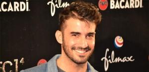Fotografía del actor Israel Rodríguez en la premiére de Rec 4