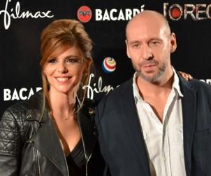 Imagen de Manuela Velasco y Jaume Balagueró en la première de Rec 4