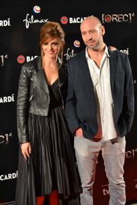 Foto de Manuela Velasco y Jaume Balagueró en la première de Rec 4