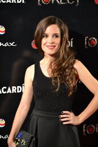 Foto de la actriz Nuria Gago en la première de Rec 4