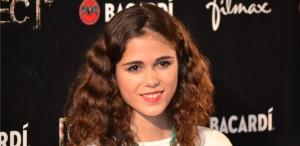 Imagen de la actriz Sandra Martín en la première de Rec 4
