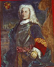 Retrato de Blas de Lezo en el Museo Naval
