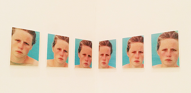 Exposición You Are The Weather, 1994–1996. 64 fotografías C-print y 36 fotografías en blanco y negro.