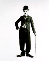 Charles Chaplin en su personaje de Charlot