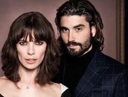 Foto promocional de la pareja protagonista de la serie 'Cuestión de Sangre'
