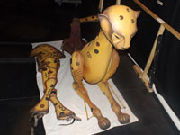 Material del animal guepardo del musical