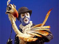 El puppet del pájaro Zazu