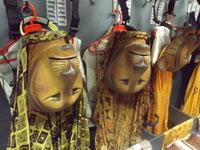 Máscaras de las leonas de el musical