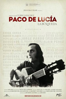Cartel del documental sobre Paco de Lucía