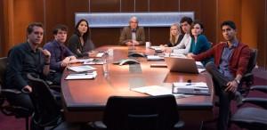 Foto del equipo de la serie 'The Newsroom'