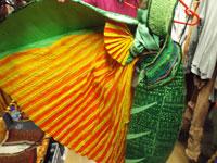 Estampados y el diseño del traje de una mujer africana de El Rey León