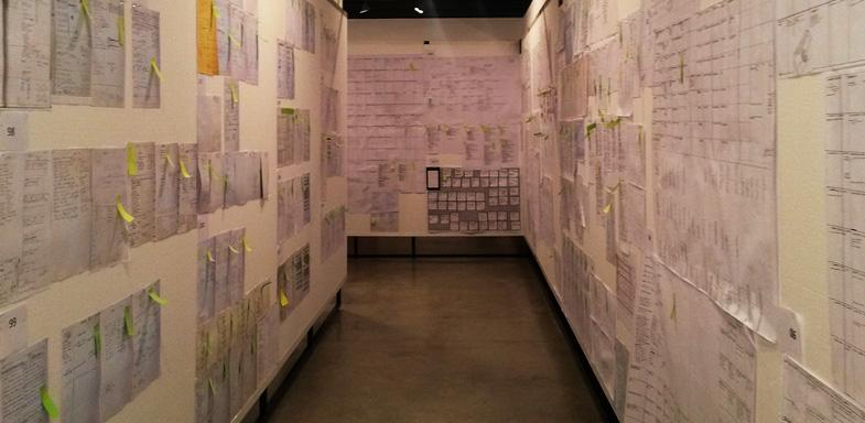 Paneles bocetos Proceso Creativo Ferran Adriá
