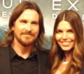 Christian Bale y su mujer