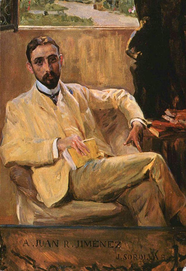 Joaquón Sorolla, Retrato de Juan Ramón Jiménez