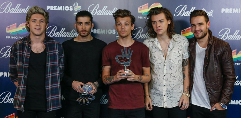 One Direction recibieron dos galardones