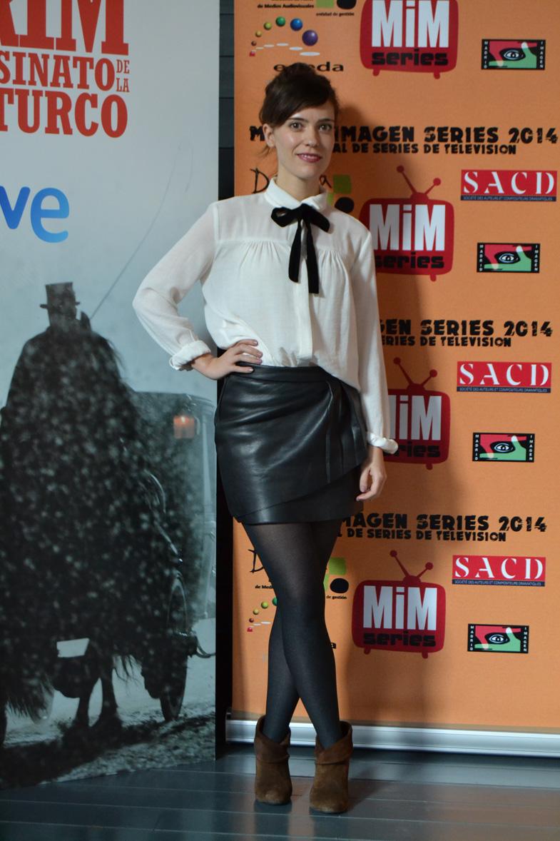 Imagen de Itsaso Arana en el Festival de Series MIM
