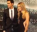 El futbolista Álvaro Arbeloa y su mujer