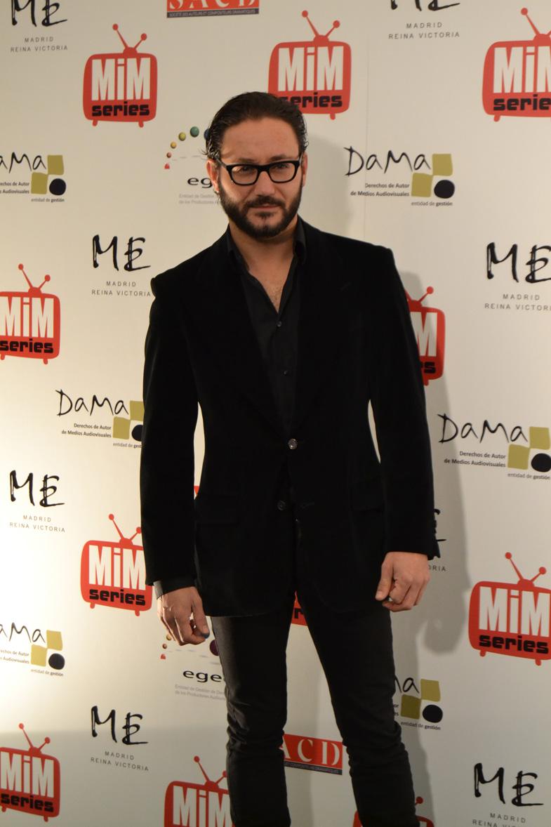 Carlos Santos en los Premios del Festival de Series MIM 2014