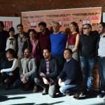 El reparto en la presentación de 'Prim, el asesinato de la calle del turco'