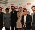 Imagen del cast del 'Chiringuito de Pepe' en los Premios MIM Series 2014