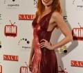 La actriz Cristina Castaños posando para el photocall en los Premios MIM Series
