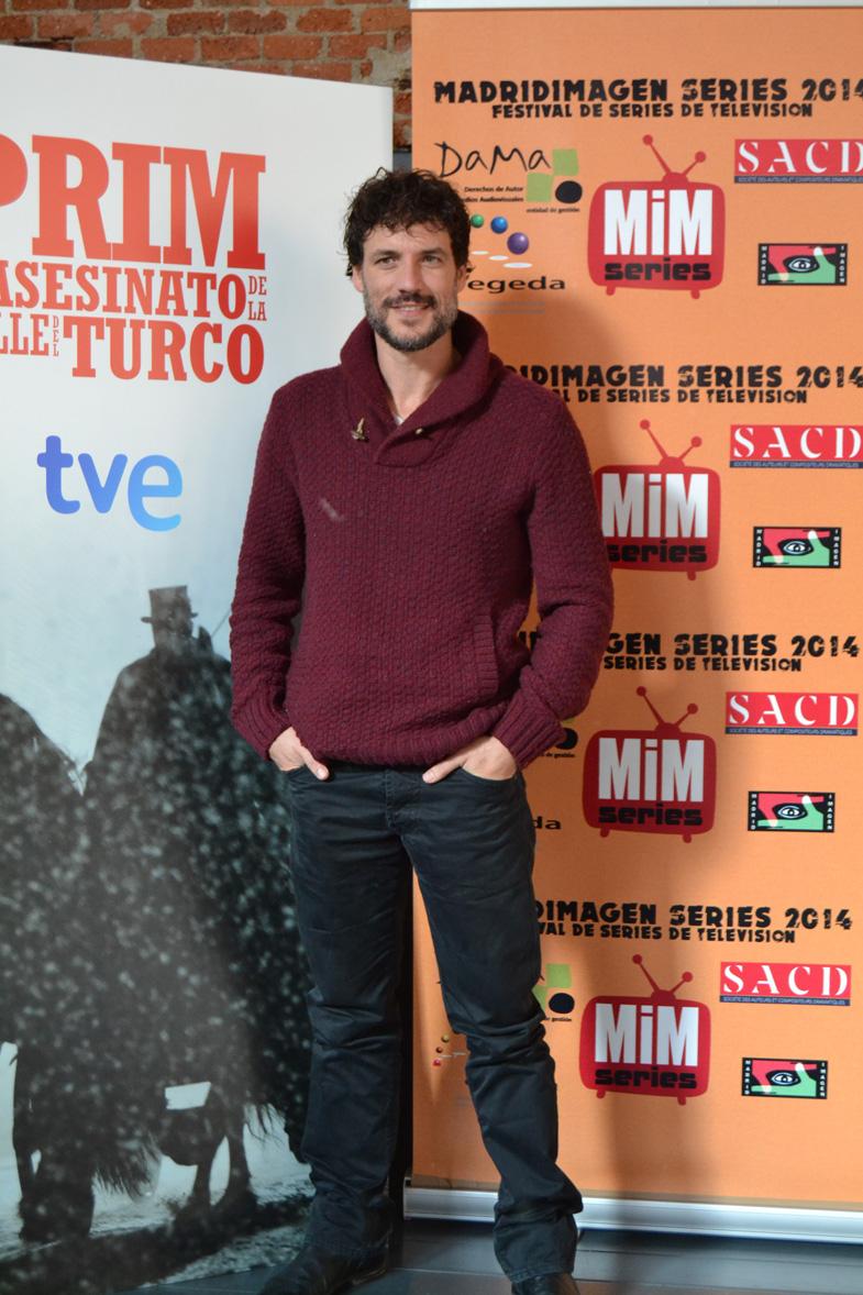 Imagen de Daniel Grao en el Festival de Series MIM