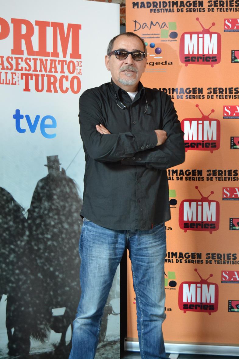 Imagen de Enrique Villén en el Festival de Series MIM