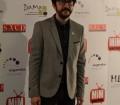 Flipy posando en el photocall de los Premios del Festival de Series MIM 2014