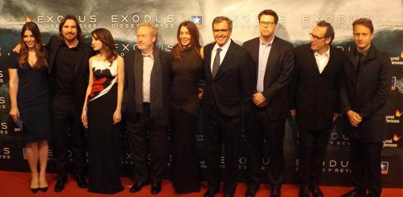 Foto de grupo del equipo de Éxodus: Dioses y Reyes
