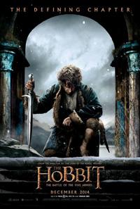Imagen de la última película de la saga El Hobbit