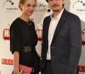 Imagen de Marta Hazas y Javier Veiga en los Premios del Festival de Series MIM 2014