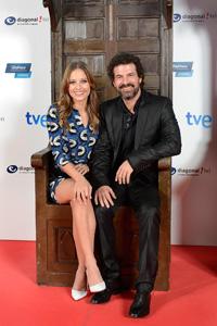 Imagen de los actores Michelle Jenner y Rodolfo Sancho