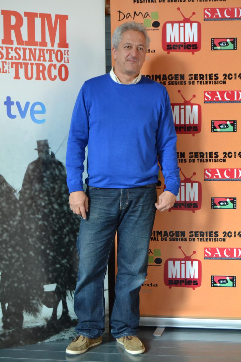 Imagen de Miguel Bardem en el Festival de Series MIM