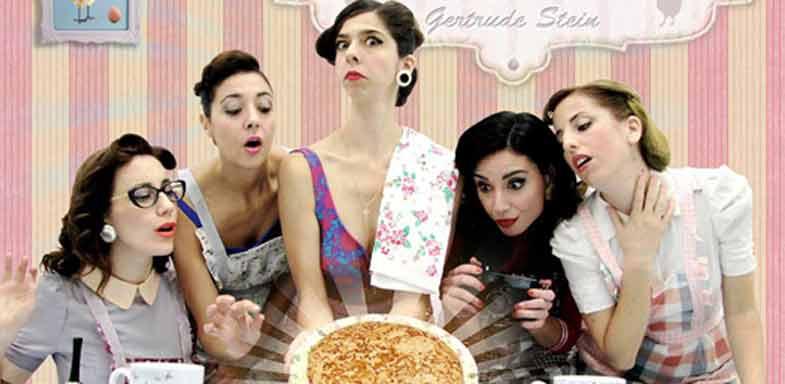 5 mujeres que comen tortilla