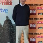 Imagen de Simón Andreu en el Festival de Series MIM