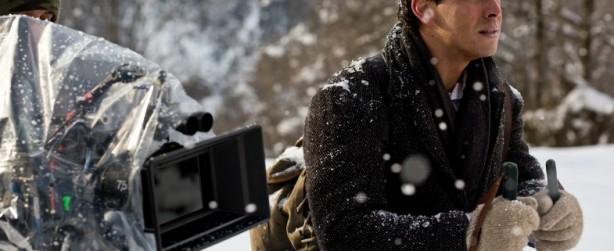 Palmeras en la nieve rodaje