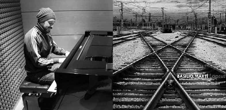 """Basilio Martí /  Portada del álbum """"Lapsus"""" (2013)"""