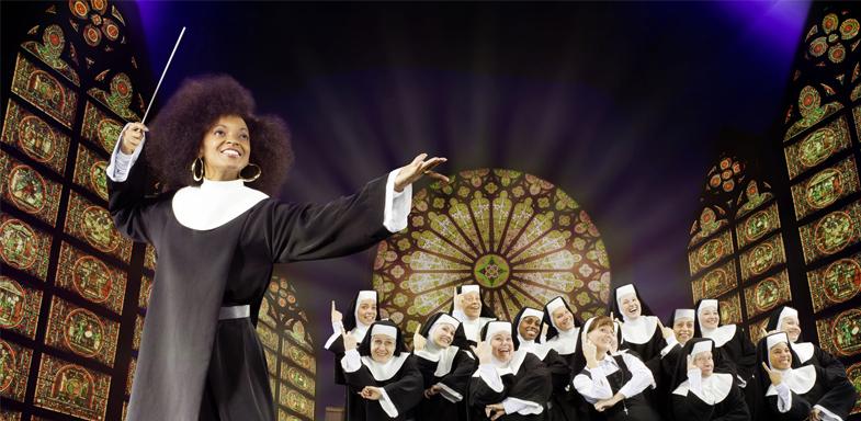 Cartel de Sister Act el musical