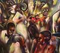 Billy Dee Williams: La saga Star Wars vuelve a estar de moda. Muchos recordarán el atormentado personaje de Lando Calrissian, pero seguro que muy pocos saben que además de actuar, Billy Dee Williams tiene una carrera paralela como pintor cotizado y laureado, cuya obra figura en las colecciones del Instituto Smithsoniano y del Schomburg Museum de Nueva York. Su obra, influenciada por artistas como Ernie Barnes, está marcada por los homenajes a la historia y la cultura afroamericanas.