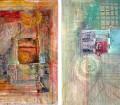Viggo Mortensen: Como sabemos, el argentino-danés-estadounidense es un actor versátil y de lo más polifacético. Pero además de como intérprete merecidamente reconocido, Viggo ejerce como poeta, editor de poesía al frente de su sello Perceval Press, músico, fotógrafo y, sí, también pintor. Todo un renacentista. Debido a su poca inclinación a exponer en galerías, sus cuadros han quedado eternizados en cuatro libros de entre los cuales se destaca Recent Forgeries, con poemas, fotografías y pinturas propias y prólogo del fallecido Dennis Hopper.