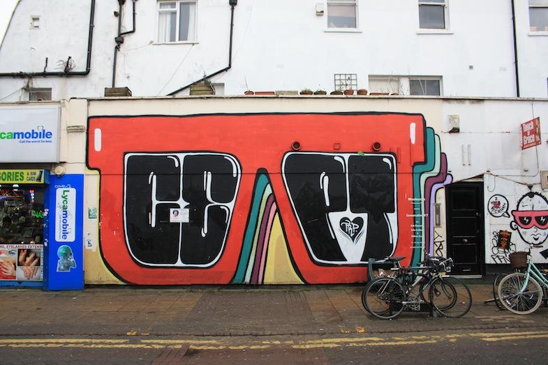 Mural en Peckham