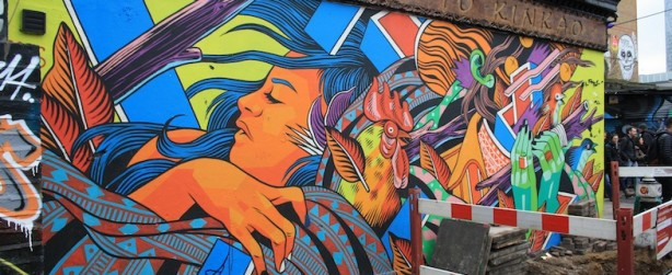Mural en Shoreditch
