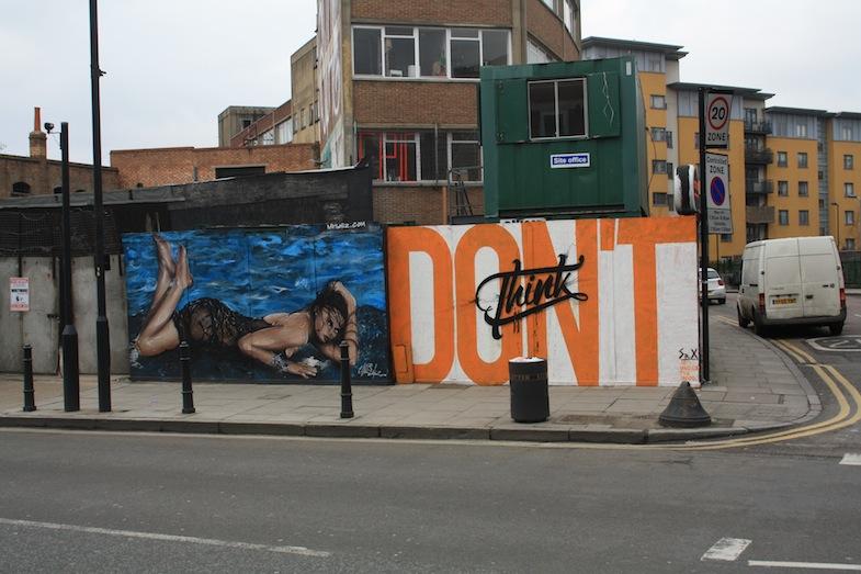 Mural en Shoreditch