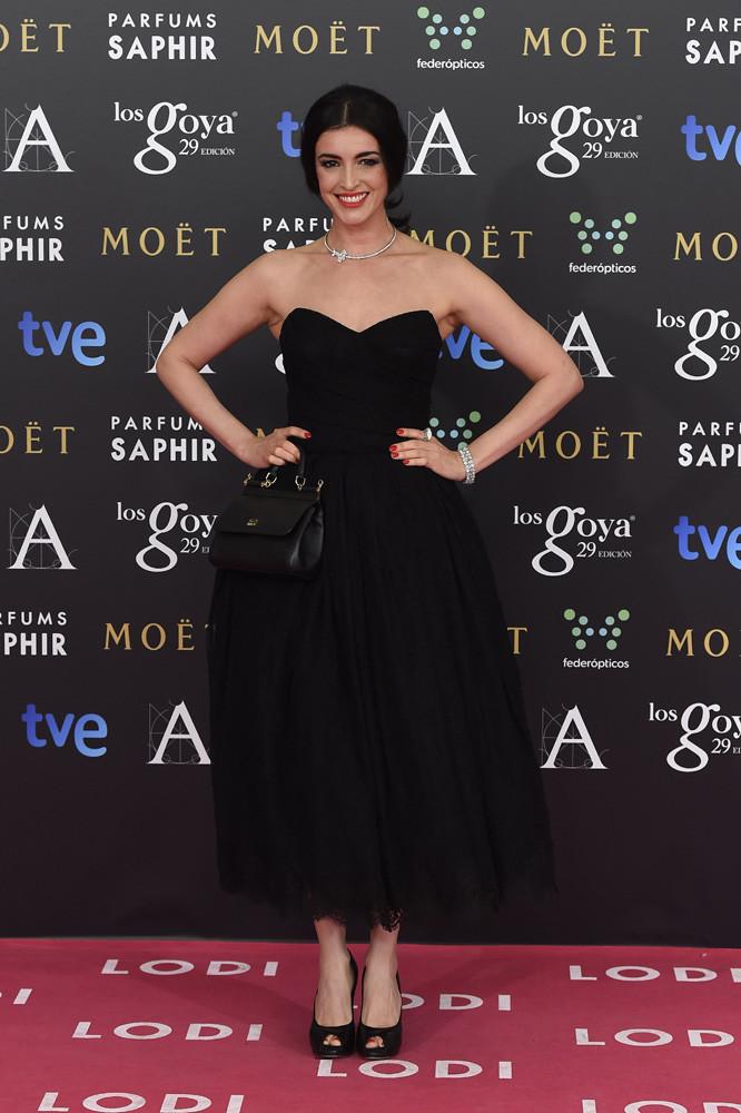 La actriz Blanca Romero en los Goya 2015