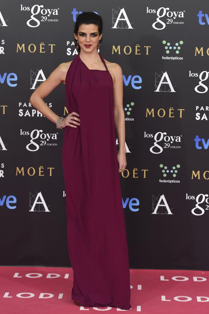 La actriz Clara Lago en los Goya 2015